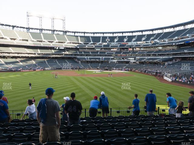 Citi Field Section 136 view