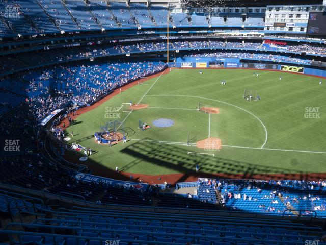 Rogers Centre Section 518 R view