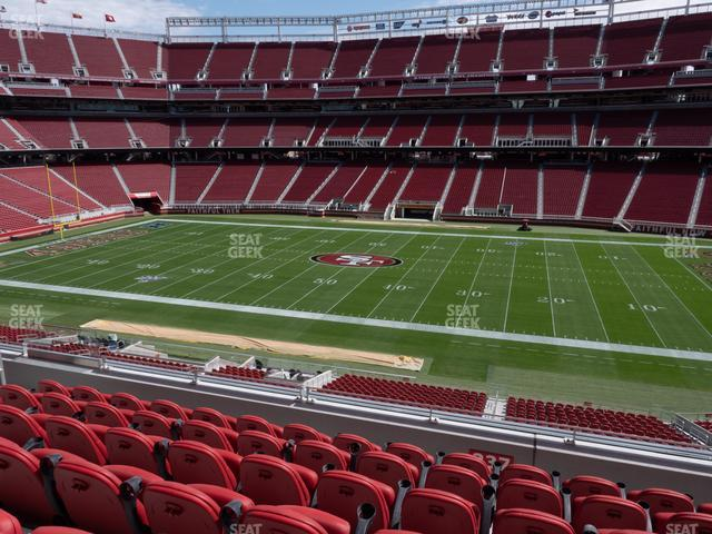 Levi's Stadium Section C 237 view