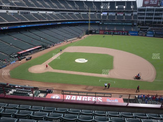 Globe Life Park Section 233 view