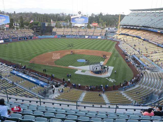 Dodger Stadium Reserve 7 view