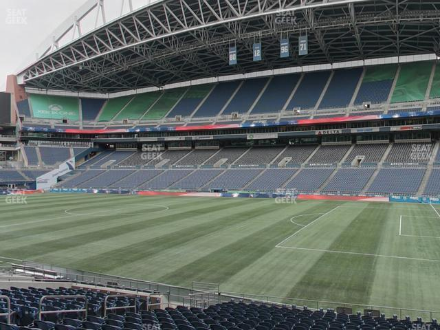 CenturyLink Field Section 131 view