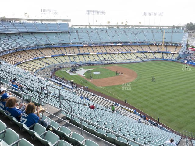 Dodger Stadium Reserve 42 view