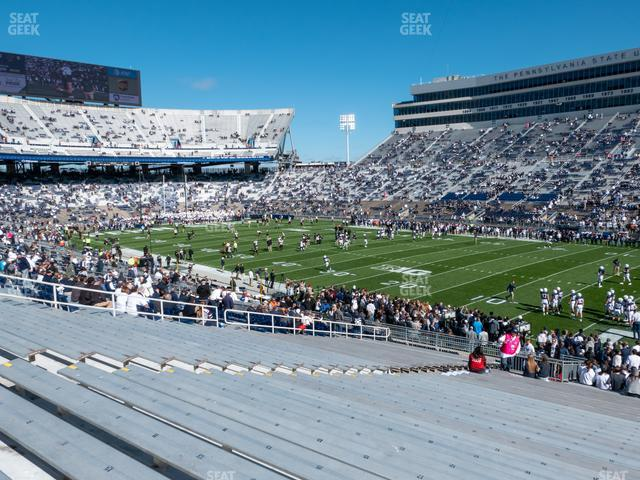 Beaver Stadium Section West A view