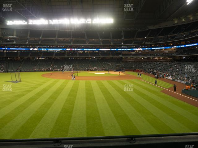 Minute Maid Park Section 102 view