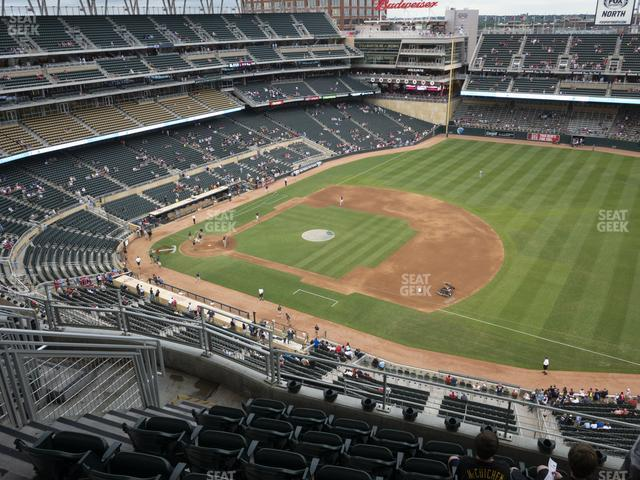 Target Field Section 306 view