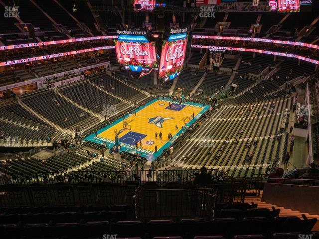 Spectrum Center Section 214 view