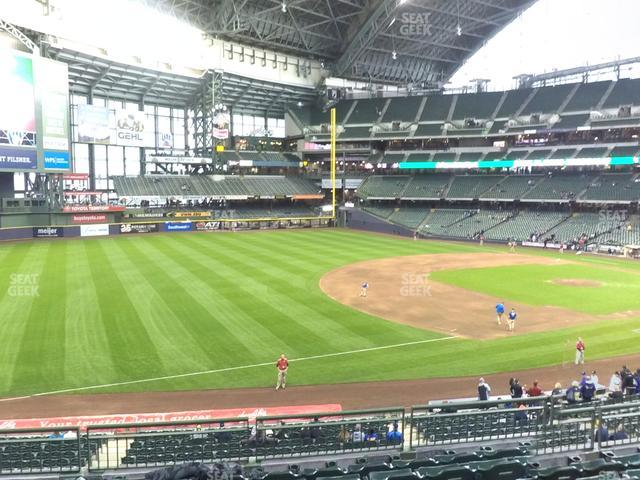 Miller Park Section 228 view