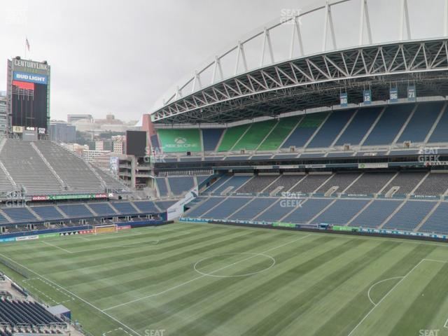 CenturyLink Field Lower 330 view