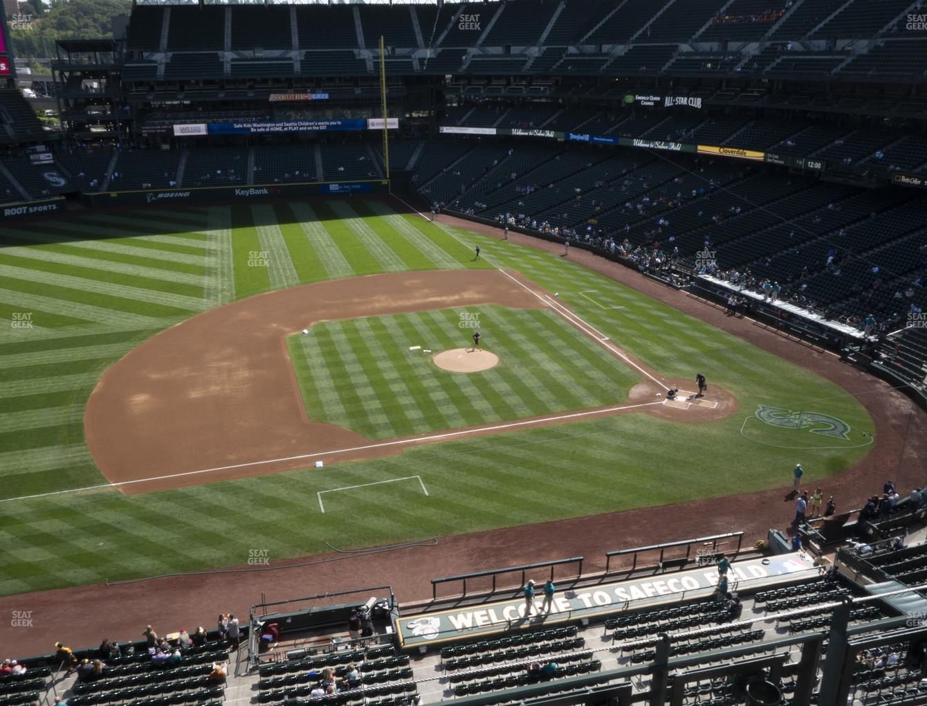 Seattle Mariners at T-Mobile Park Section 339 View