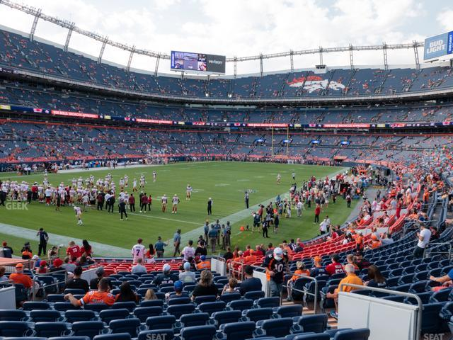 Empower Field at Mile High Section 129 view