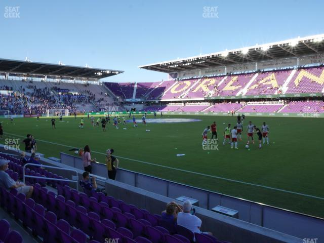 Exploria Stadium Section 11 view