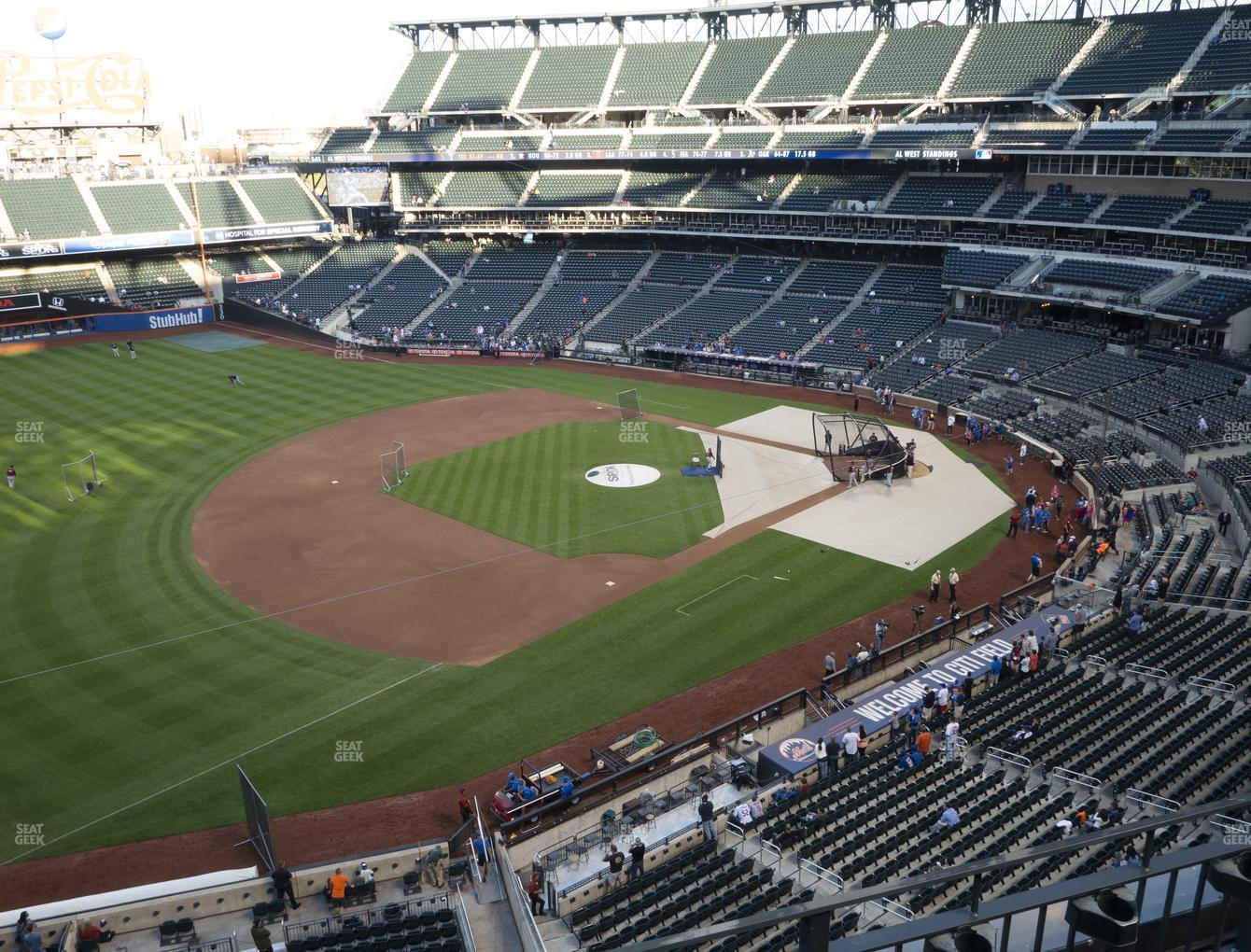 New York Mets at Citi Field Section 425 View