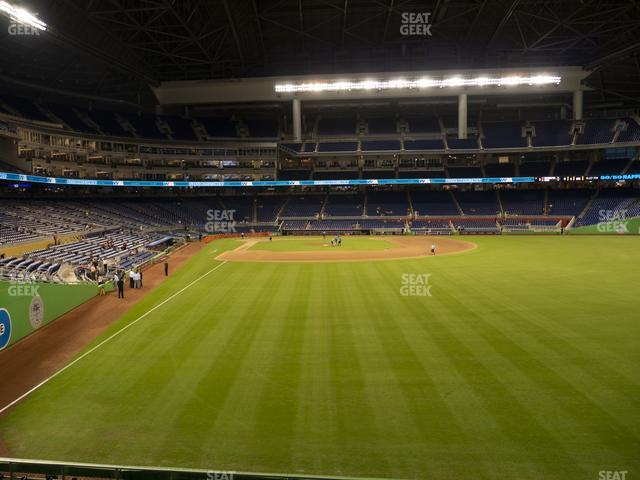 Marlins Park Section 40 view