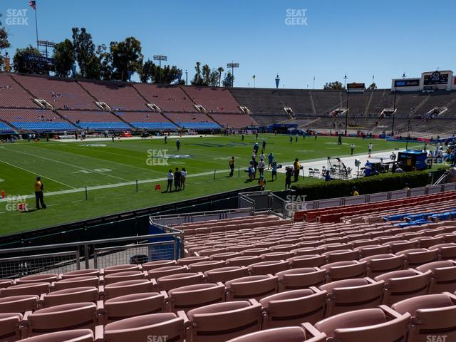 The Rose Bowl Lower 16 L view