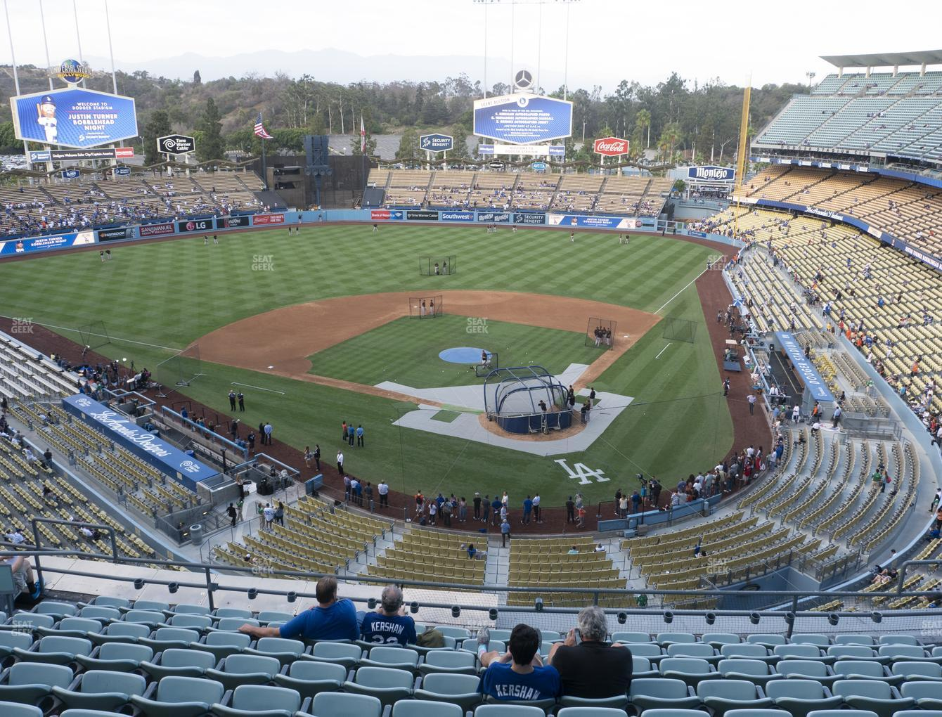 Los Angeles Dodgers at Dodger Stadium Reserve 5 View