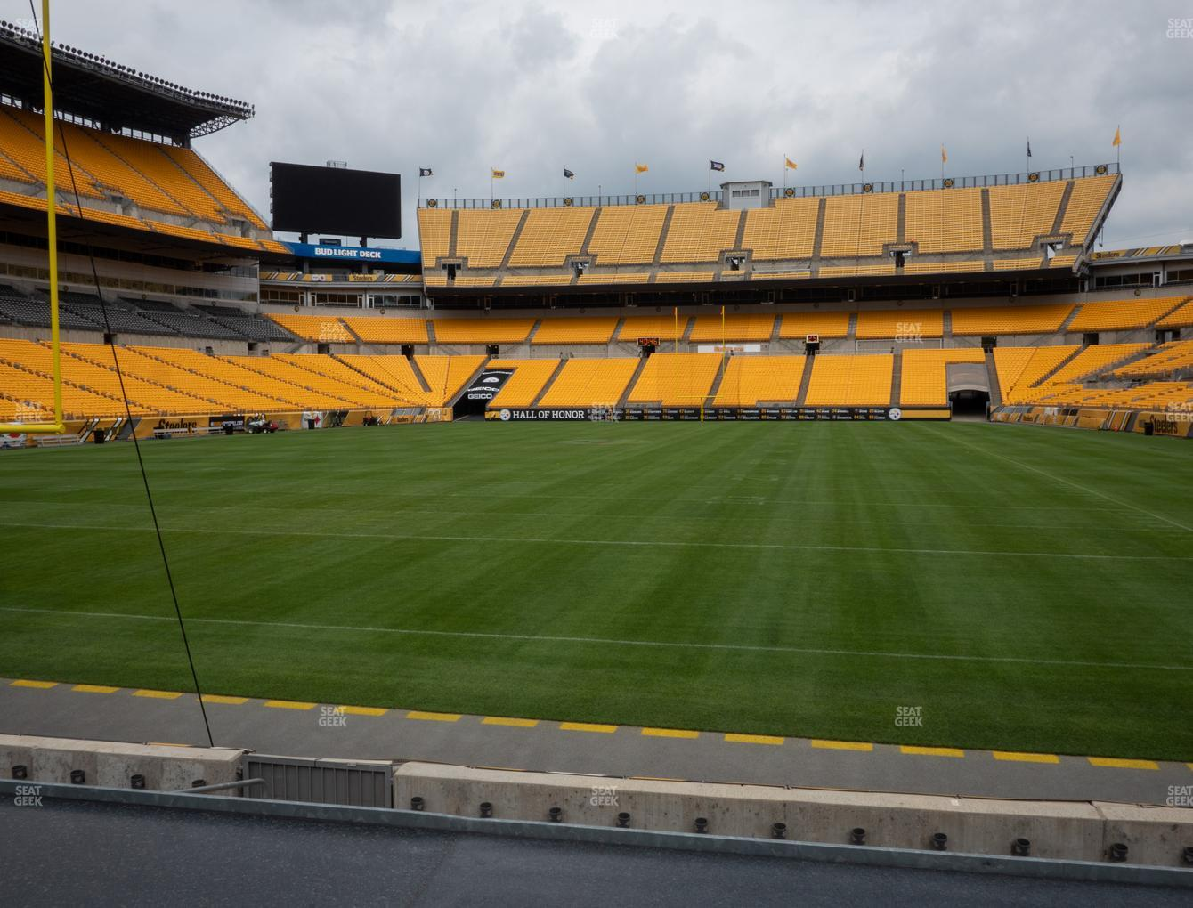 Pittsburgh Steelers at Heinz Field Section FS 3 View