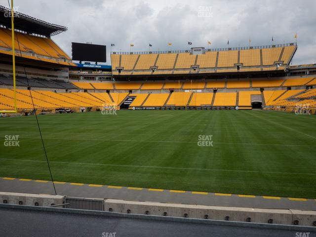 Heinz Field Section FS 3 view