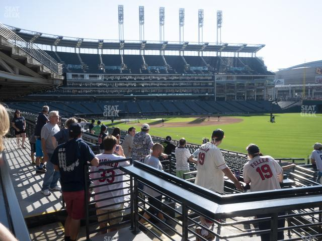 Progressive Field The Corner Bar view