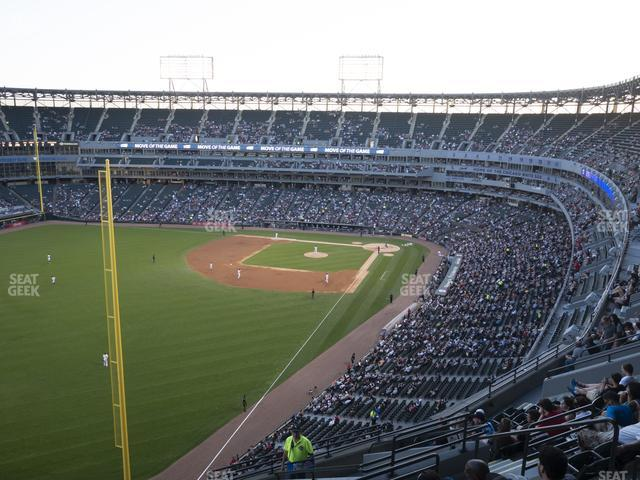 Guaranteed Rate Field Section 556 view