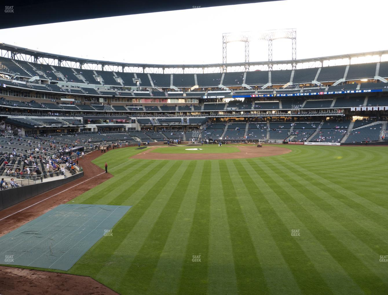New York Mets at Citi Field Section 102 View