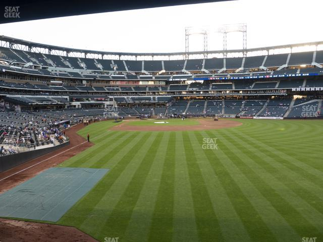 Citi Field Section 102 view