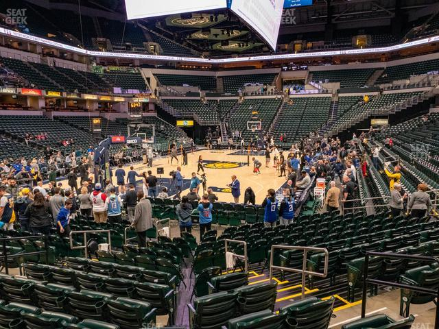 Bankers Life Fieldhouse Section 9 view