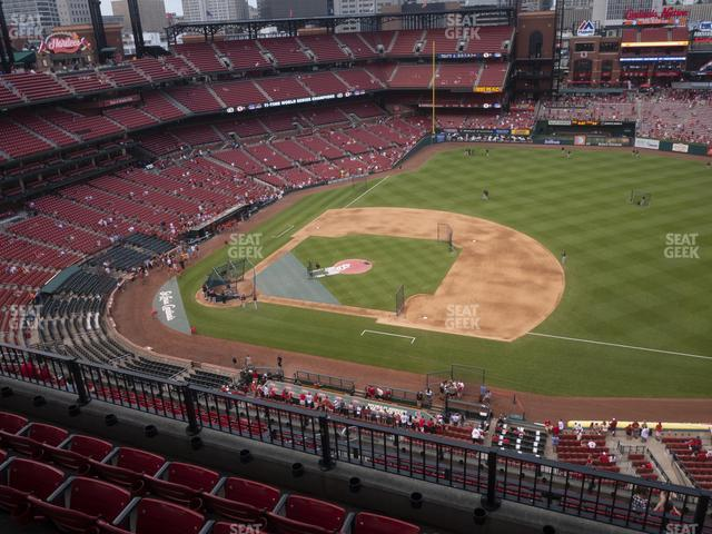 Busch Stadium First Base Terrace 439 view