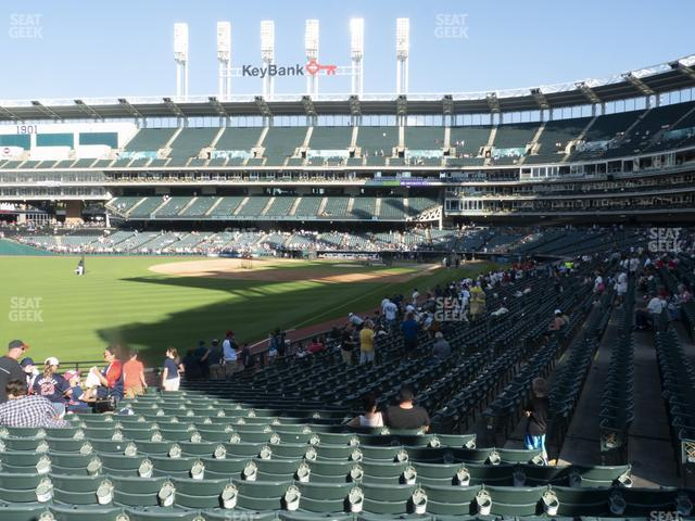 Progressive Field Section 178 view