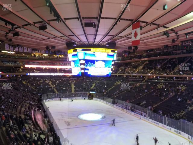 Madison Square Garden Section 202 view