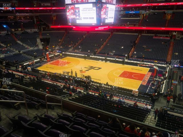 Capital One Arena Section 202 view