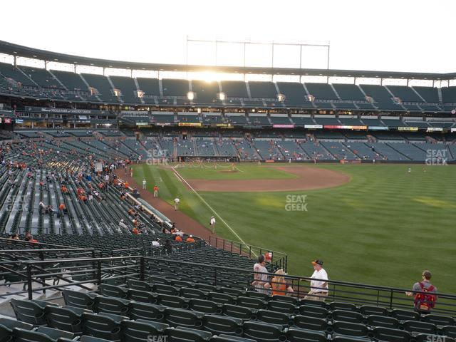 Oriole Park at Camden Yards Section 3 view