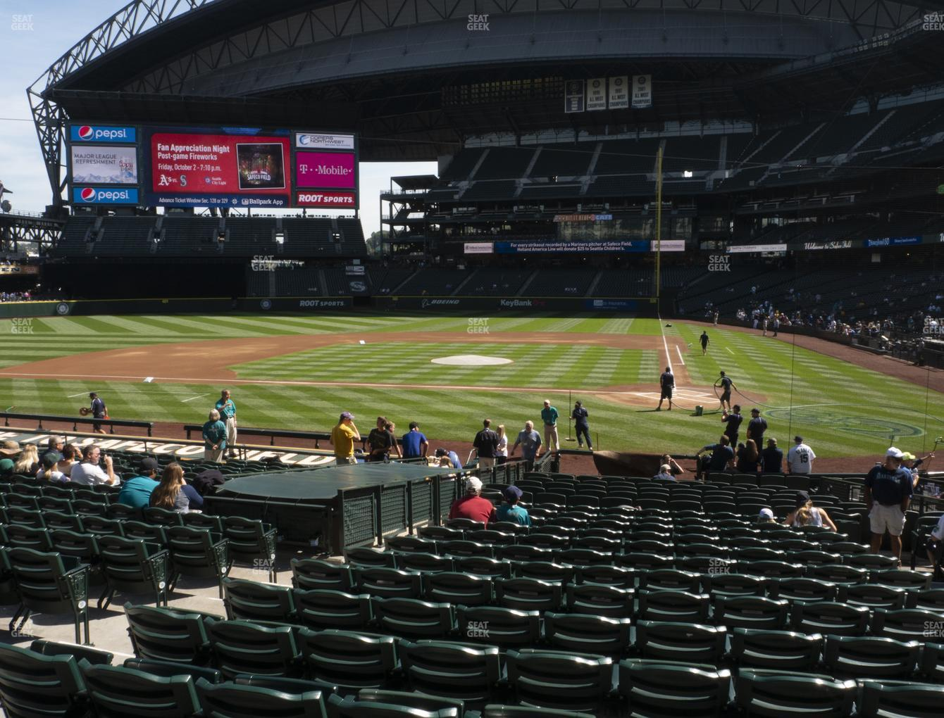 Seattle Mariners at T-Mobile Park Section 135 View