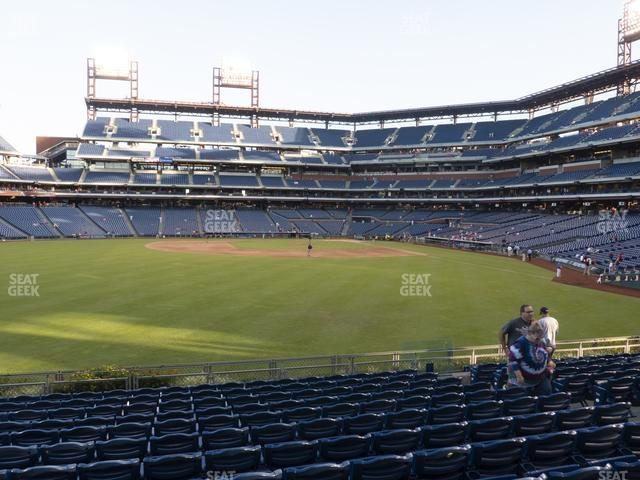 Citizens Bank Park Section 144 view