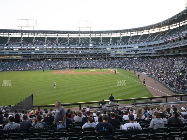 Guaranteed Rate Field Section 158 view