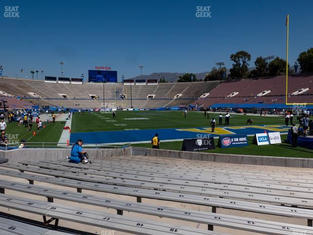 The Rose Bowl Lower 24 L view