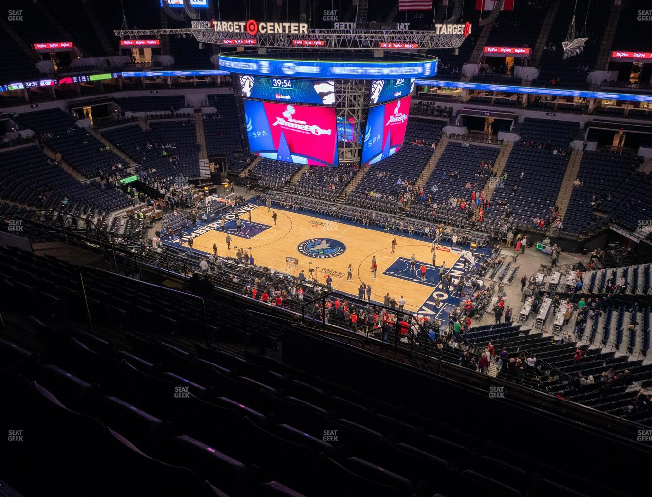 Minnesota Lynx at Target Center Section 228 View