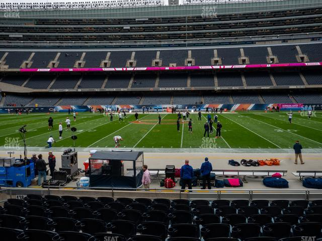Soldier Field Section 136 view