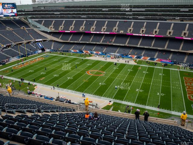 Soldier Field Section 434 view