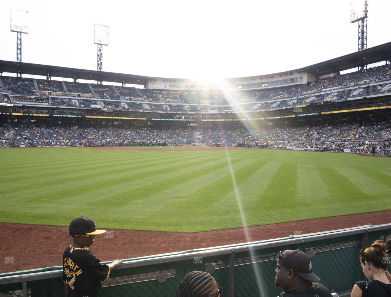 Pittsburgh Pirates at PNC Park Section 138 View