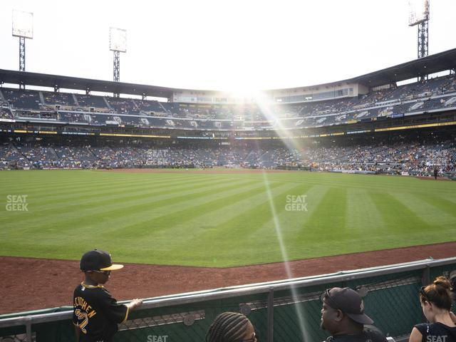 PNC Park Section 138 view