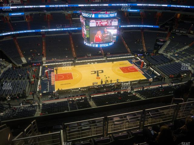 Capital One Arena Section 433 view