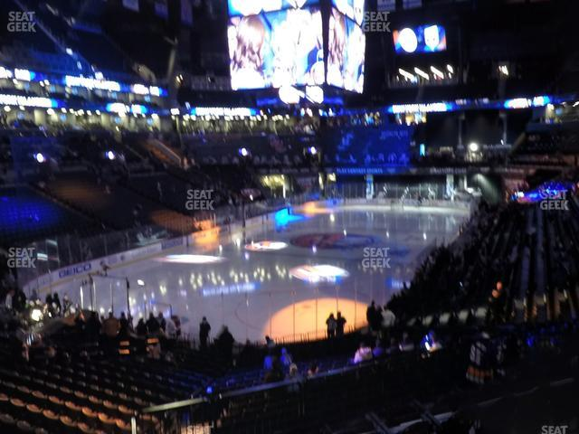 Barclays Center Section 114 view