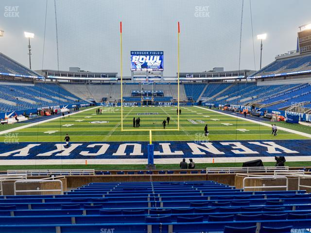 Kroger Field Section 16 view