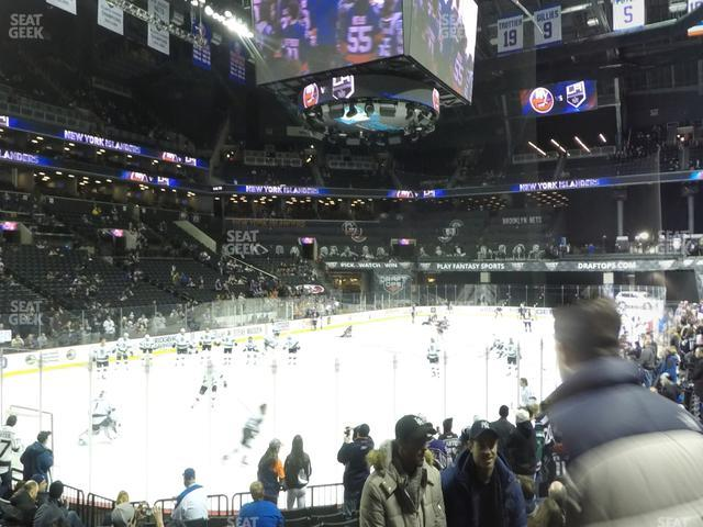 Barclays Center Section 13 view