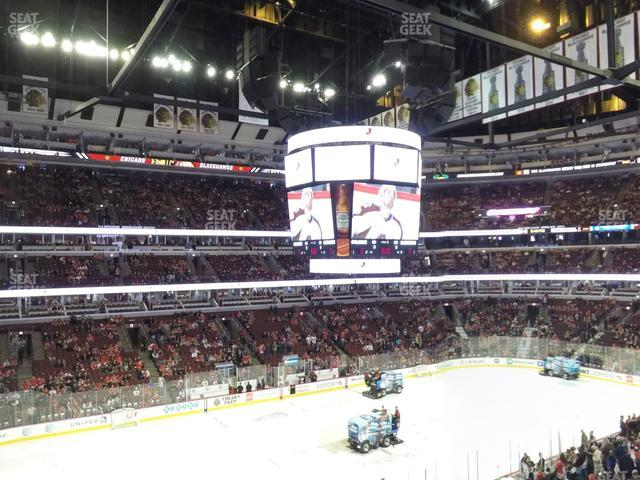 United Center Section 220 view