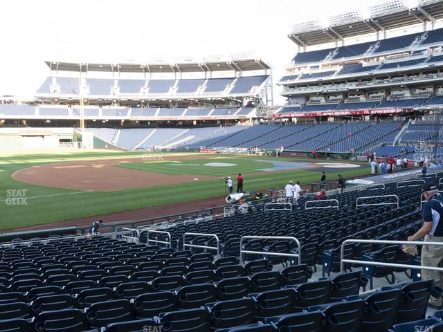 Nationals Park Section 113 view