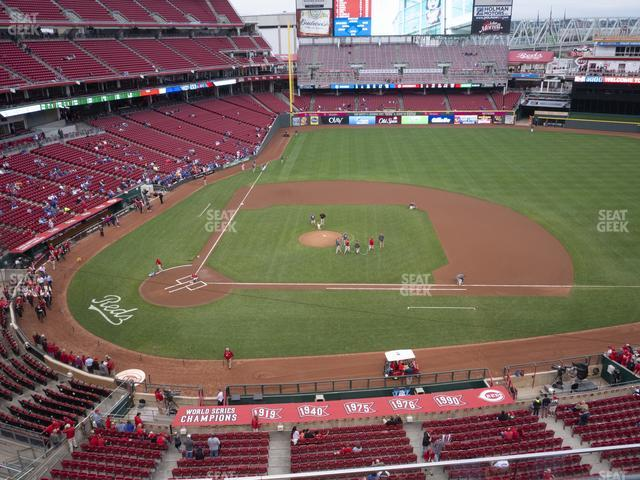 Great American Ball Park Section 429 view