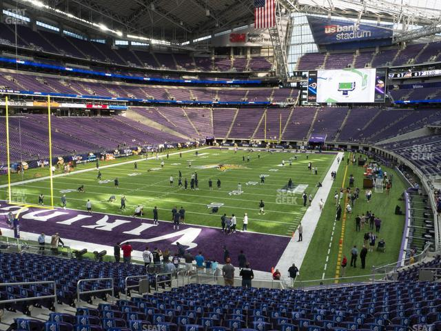 U.S. Bank Stadium Section 138 view
