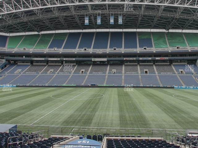 CenturyLink Field Section 134 view